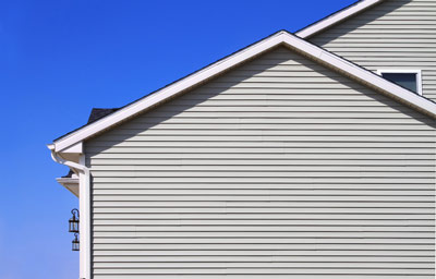 Vinyl siding on Oklahoma City home